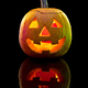Halloween pumpkin head jack lantern with scary evil face - PhotoDune Item for Sale
