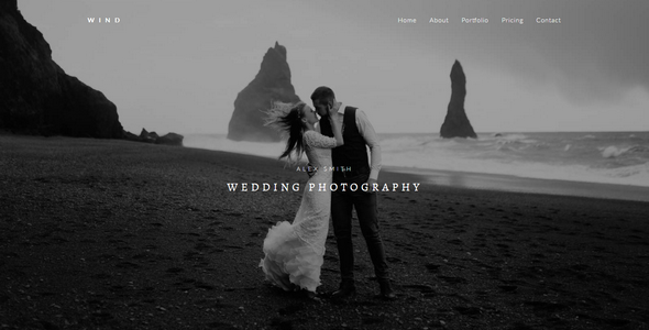 WIND - Photography Muse Template