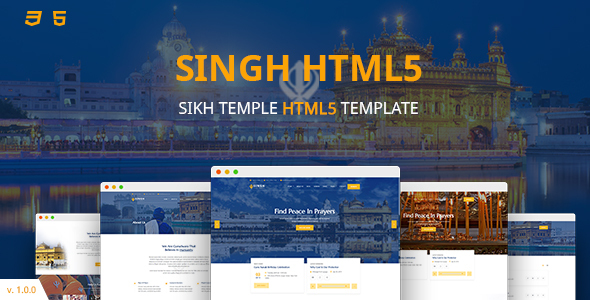 Singh HTML5 Template