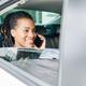 Passenger using phone in car - PhotoDune Item for Sale