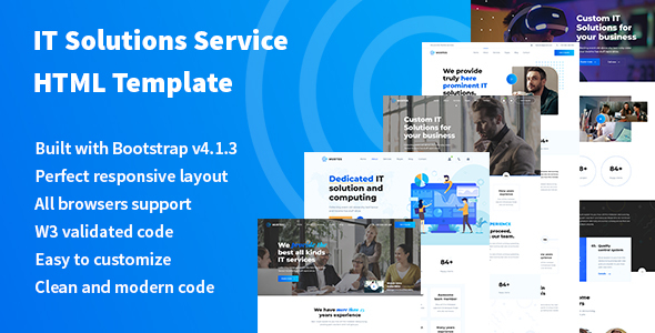 Murtes - IT Solutions and Services Company HTML Template by themexriver