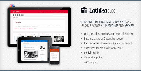 Sofa Lathika - Responsive Blog | Portfolio