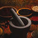 Different spices and mortar - PhotoDune Item for Sale