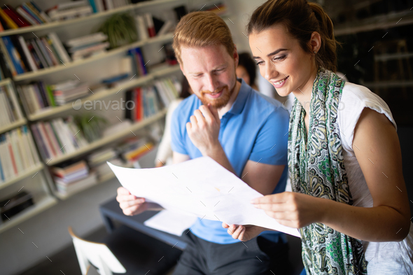 Business people meeting good teamwork in office - Stock Photo - Images