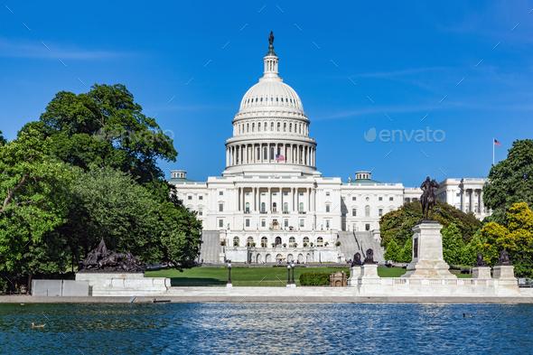The United States Capitol. Washington, D.C. - Stock Photo - Images