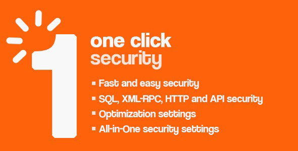One Click - Wordpress Security