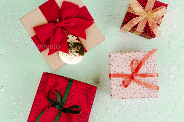 Christmas gift ideas - Stock Photo - Images