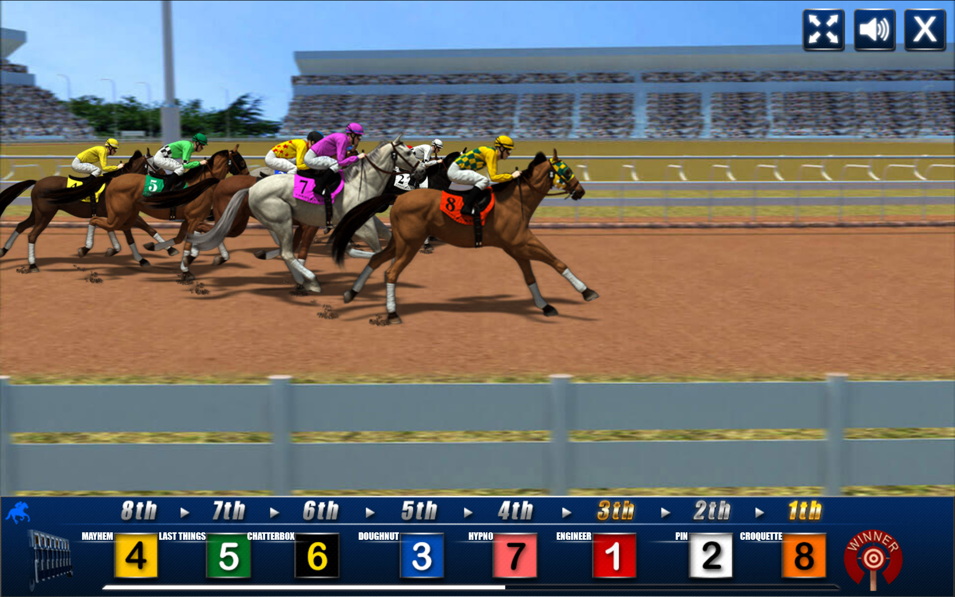 Horse racing betting pc game sports betting case in new jersey