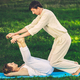 Thai massage with yoga exercises - PhotoDune Item for Sale