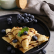Thin Pancakes with Blueberries - PhotoDune Item for Sale