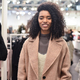Black young woman doing shopping in a store - PhotoDune Item for Sale