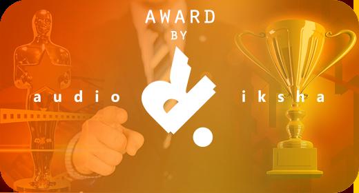 Award by audioriksha