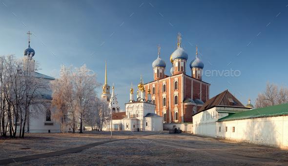 Ryazan Kremlin XII Century, Ryazan, Russia - Stock Photo - Images