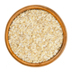 Oatmeal, rolled white oats in wooden bowl - PhotoDune Item for Sale