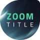ZOOM Cinematic Trailer - VideoHive Item for Sale