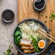 Close view ramen noodles with pork and egg - PhotoDune Item for Sale
