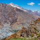 Dhankar Monastery and village in Himalayas - PhotoDune Item for Sale