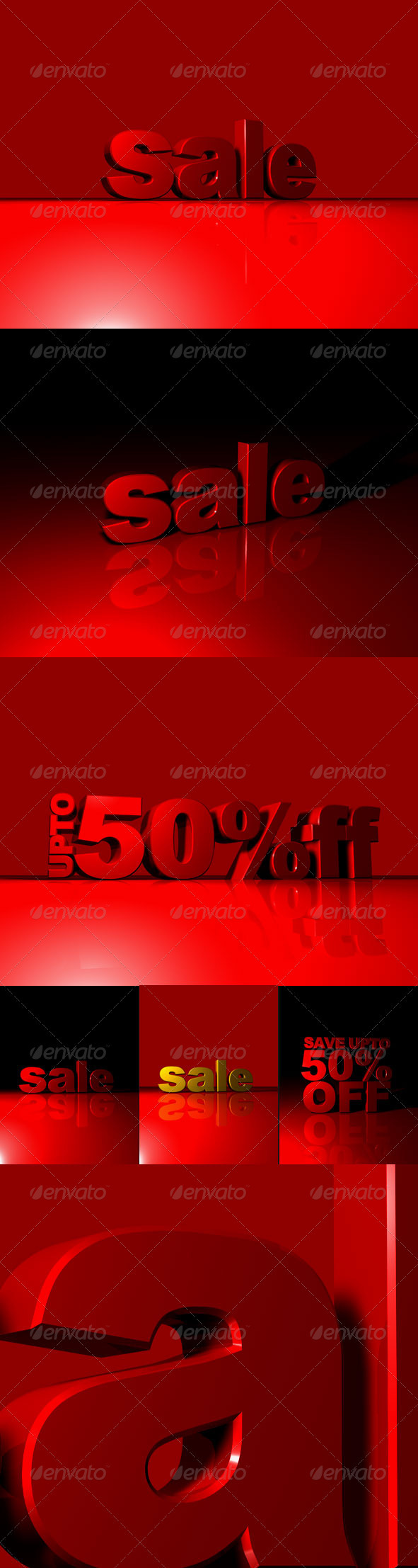 3d Sale and Discount - 3D Backgrounds