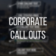 Corporate Call Outs - VideoHive Item for Sale