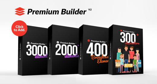 PremiumBuilder Packs