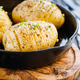 Close-up of homemade baked potato with olive oil - PhotoDune Item for Sale