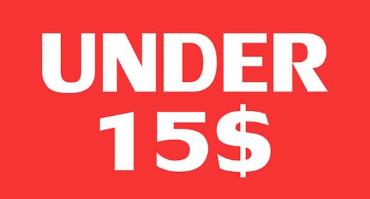 Under 15$