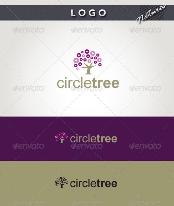 Circle Tree Logo - Nature Logo Templates