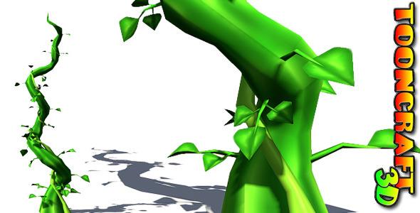 Giant Beanstalk - 3DOcean Item for Sale