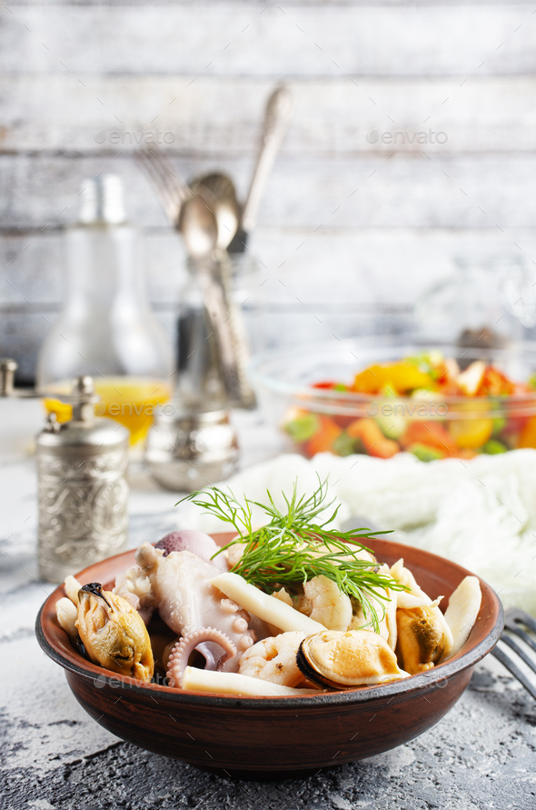 seafood - Stock Photo - Images