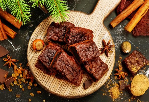 chocolate cake - Stock Photo - Images