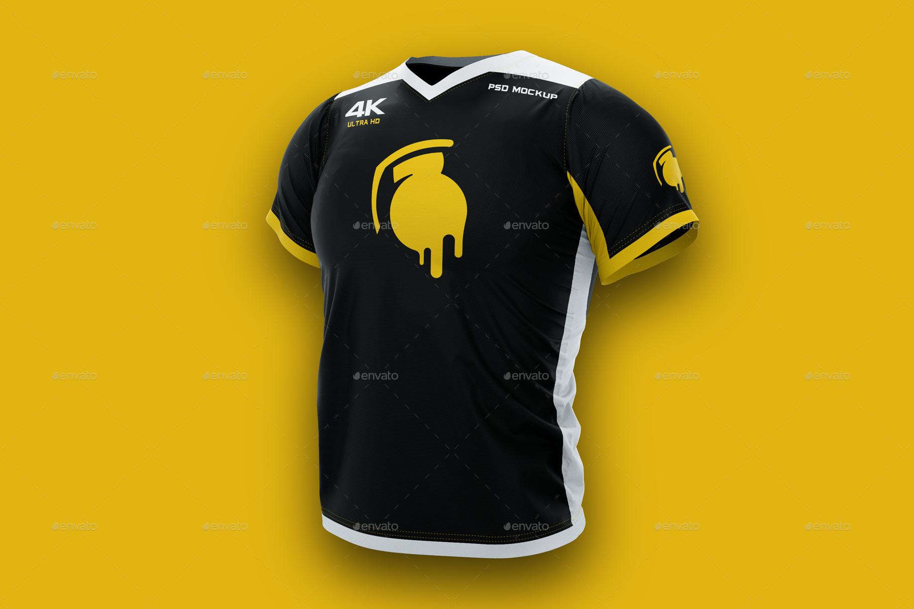1381+ Mockup Jersey Esport Photoshop File