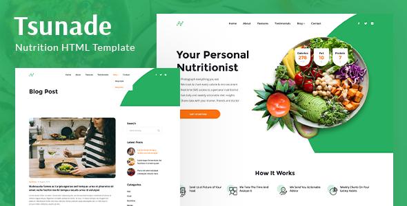 Tsunade - Health HTML Template