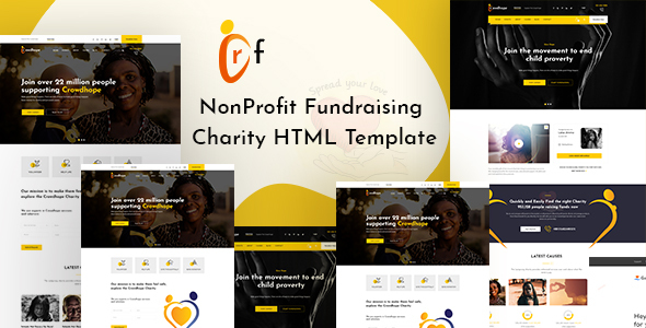 Crf - Crowdfunding Charity HTML Template by template_mr