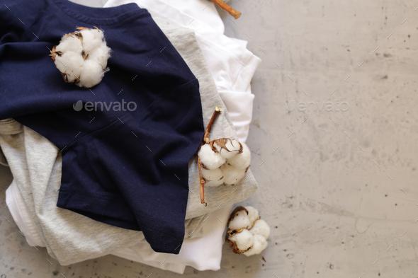 Natural Organic Clothing - Stock Photo - Images