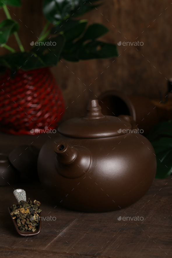 Ceremony Green Tea - Stock Photo - Images