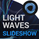 Light Waves Slideshow  l   Lines Particles Slidesshow - VideoHive Item for Sale