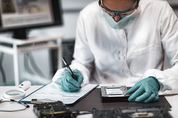 Forensic Science Crime Laboratory - Stock Photo - Images