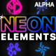 Neon Elements | Motion Graphics Pack - VideoHive Item for Sale