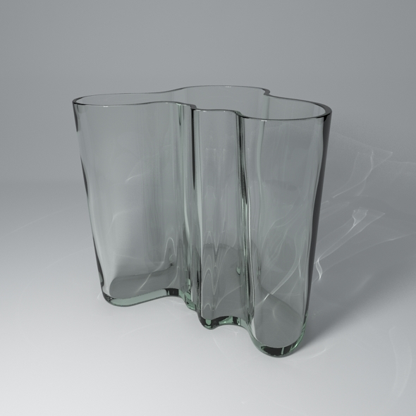 Savoy Vase 1937 - Alvar Aalto - 3DOcean Item for Sale