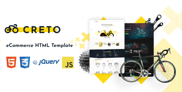 Creto   eCommerce HTML Template by Rovadex
