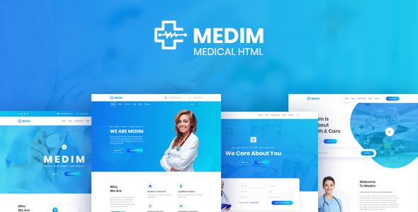 Medim - Medical and Health HTML Template by sk_mahi