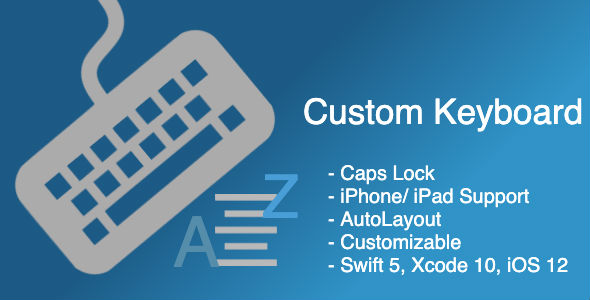 Custom Keyboard in iOS