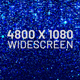 Blue Particles Widescreen Background - VideoHive Item for Sale