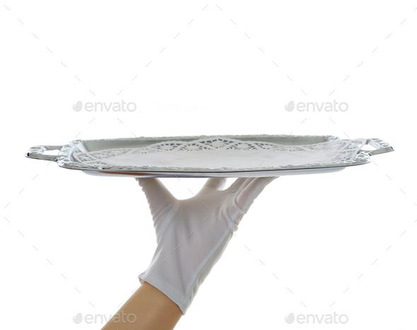 empty tray - Stock Photo - Images