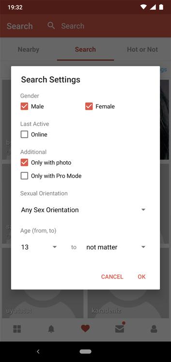 Sex Dating App iOS Je rencontre un homme Capricorne