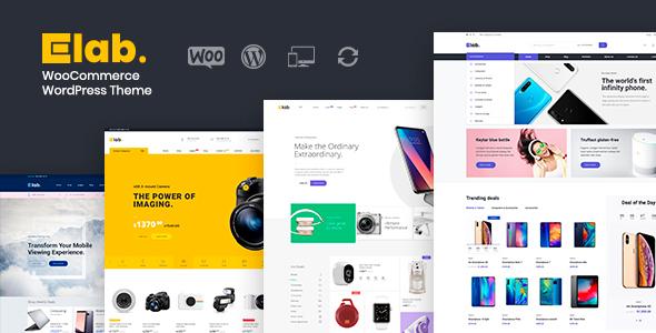 eLab - Electronics Store WordPress Theme