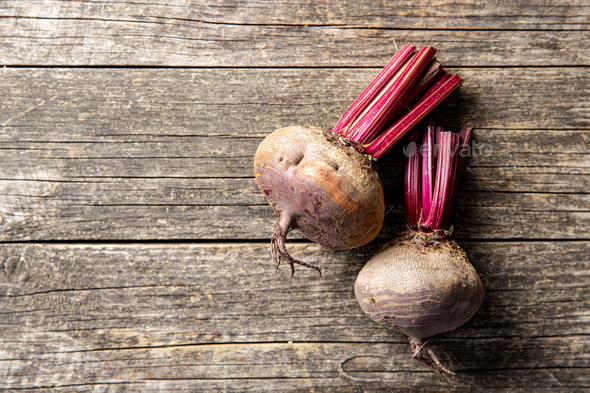 Tasty raw beetroot. - Stock Photo - Images