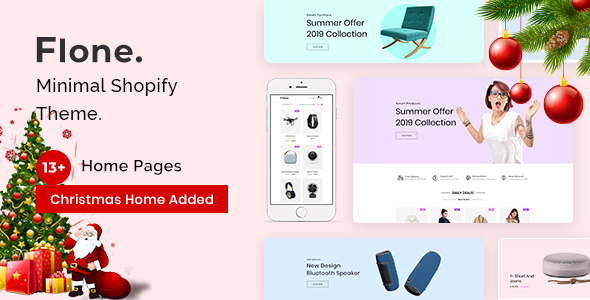 Flone – Minimal Shopify Theme