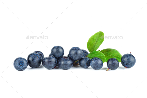 Pile of blueberries - Stock Photo - Images