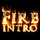 Fire Logo Or Title Reveal Intro - VideoHive Item for Sale